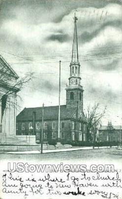 First Presbyterian Church  - Elizabeth, New Jersey NJ Postcard