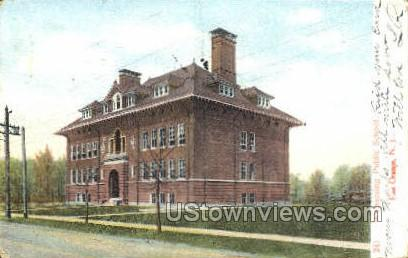 Watssesing Public School - East Orange, New Jersey NJ Postcard