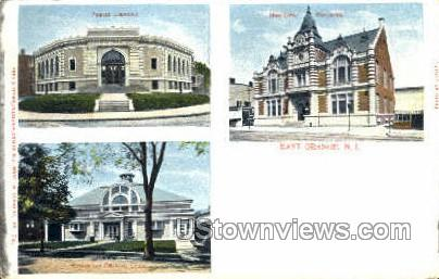Municipal Building - East Orange, New Jersey NJ Postcard