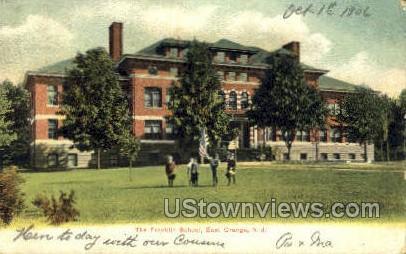 The Franklin School - East Orange, New Jersey NJ Postcard