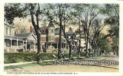 North Alington Ave - East Orange, New Jersey NJ Postcard