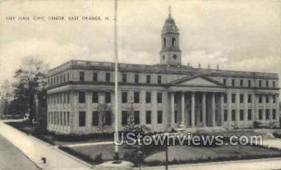 City Hall - East Orange, New Jersey NJ Postcard