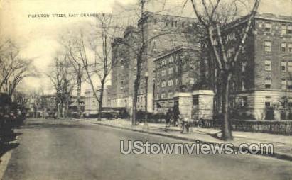 Harrison Street - East Orange, New Jersey NJ Postcard