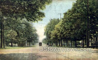 Central Ave Corner Harrison St.  - East Orange, New Jersey NJ Postcard