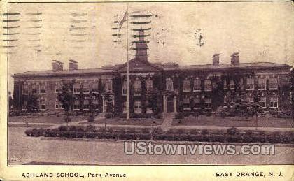 Ashland School - East Orange, New Jersey NJ Postcard