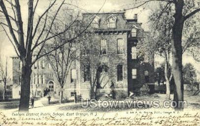 Eastern District Public School - East Orange, New Jersey NJ Postcard