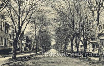 Chestnut Street - East Orange, New Jersey NJ Postcard