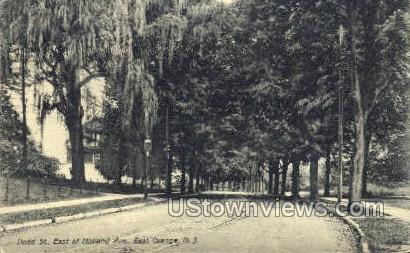 Dodd St, East Of Midland Ave. - East Orange, New Jersey NJ Postcard