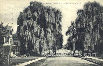 The Willows, William St.  - East Orange, New Jersey NJ Postcard