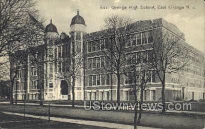 East Orange High School - New Jersey NJ Postcard