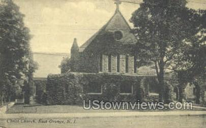 Christ Church  - East Orange, New Jersey NJ Postcard
