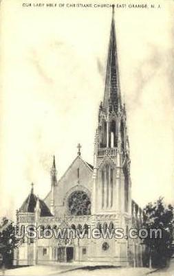 Christians Church - East Orange, New Jersey NJ Postcard