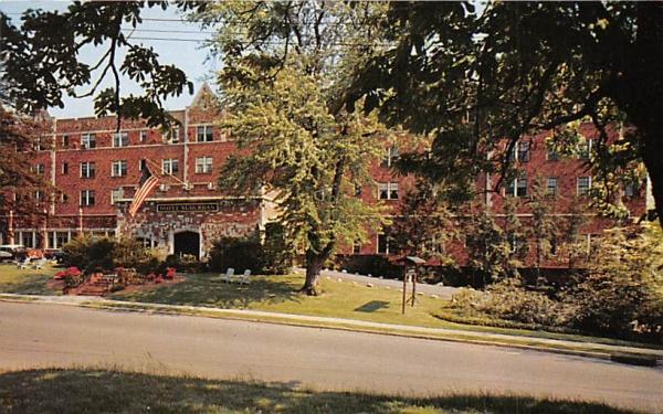 Hotel Suburban East Orange, New Jersey Postcard