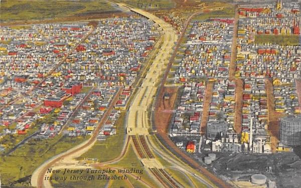 New Jersey Turnpike Postcard