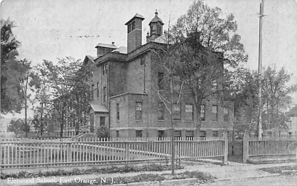 Elmwood School East Orange, New Jersey Postcard