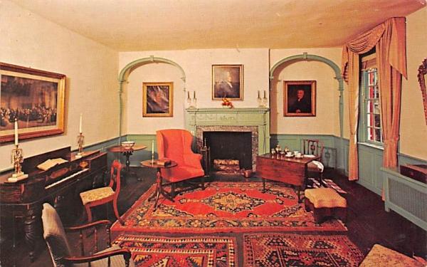 Dayton Room, Boxwood Hall Elizabeth, New Jersey Postcard