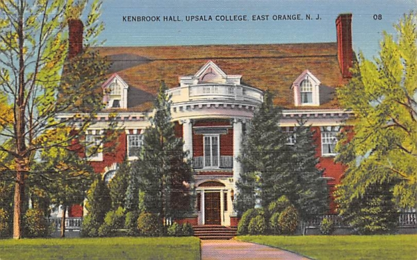 Kenbrook Hall, Upsala College East Orange, New Jersey Postcard