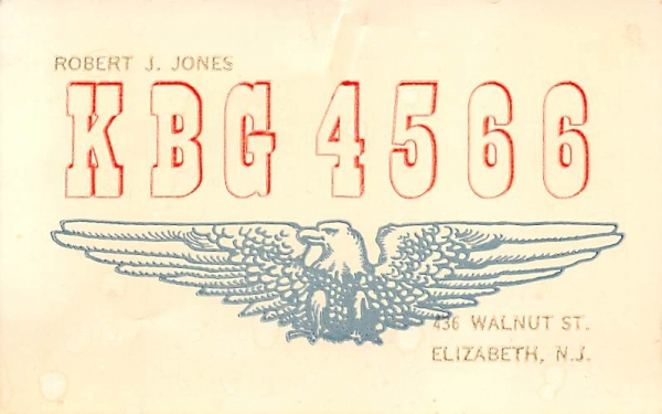 KBG 4566 Elizabeth, New Jersey Postcard