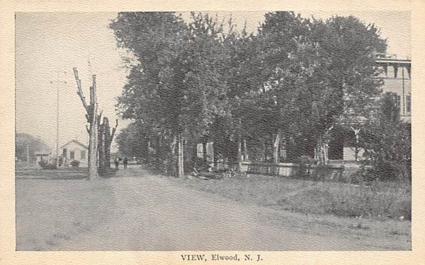 View Elwood, New Jersey Postcard