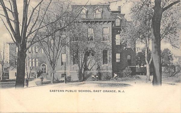 Eastern Public School East Orange, New Jersey Postcard