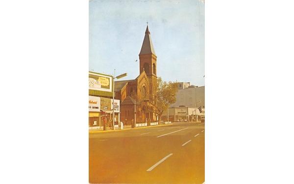 Brick Church East Orange, New Jersey Postcard