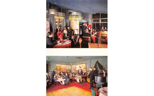 Dick Kollmar's Paris in the Sky East Orange, New Jersey Postcard