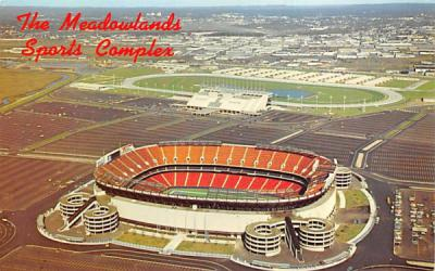 The Meadowlands Sports Complex East Rutherford, New Jersey Postcard