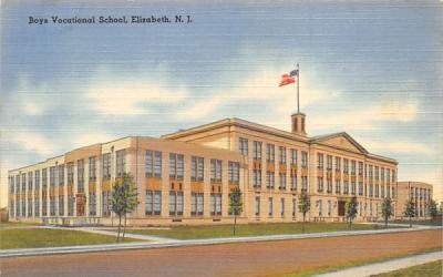 Boys Vacational School Elizabeth, New Jersey Postcard