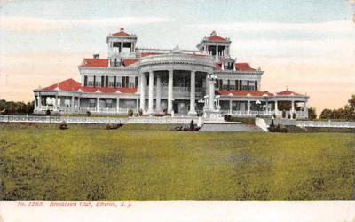Brooklawn Club Elberon, New Jersey Postcard