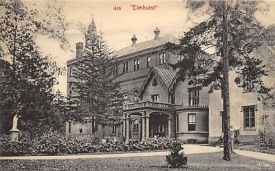 Elmhurst New Jersey Postcard