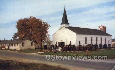 A Regimental Chapel  - Fort Dix, New Jersey NJ Postcard