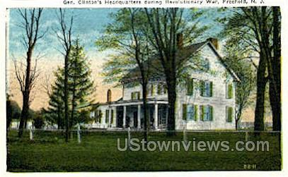 Clintons Headquarters - Freehold, New Jersey NJ Postcard
