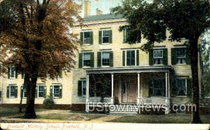 Freehold Military School - New Jersey NJ Postcard