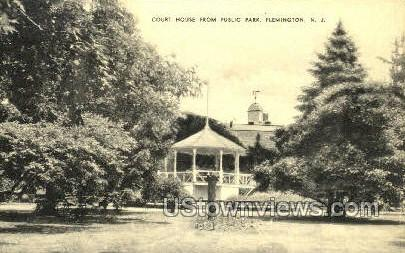 Court House  - Flemington, New Jersey NJ Postcard