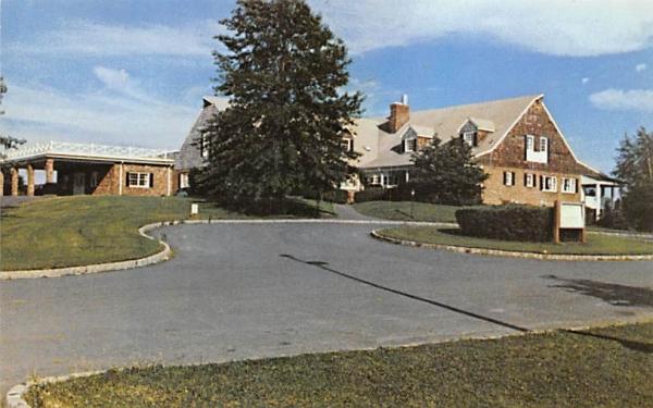 Battleground Country Club Restaurant Freehold, New Jersey Postcard
