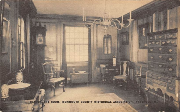 Monmouth County Historical Association Freehold, New Jersey Postcard