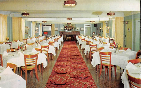 American Hotel Freehold, New Jersey Postcard