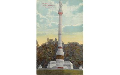 The Monmouth Battle Monument Freehold, New Jersey Postcard