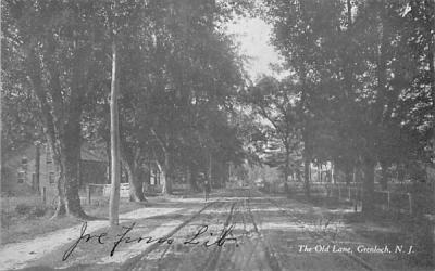 The Old Lane Grenloch, New Jersey Postcard