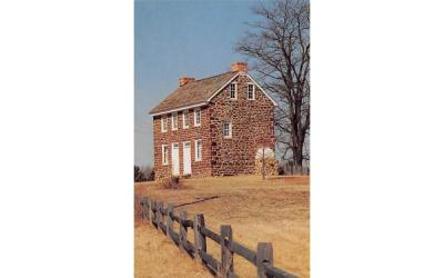 The Old Stone House Gloucester County, New Jersey Postcard