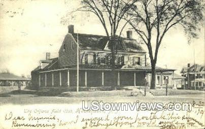 The Oritana Field Club  - Hackensack, New Jersey NJ Postcard