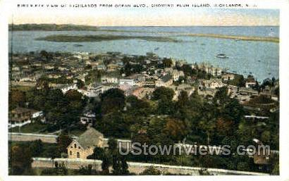 Highlands  - New Jersey NJ Postcard
