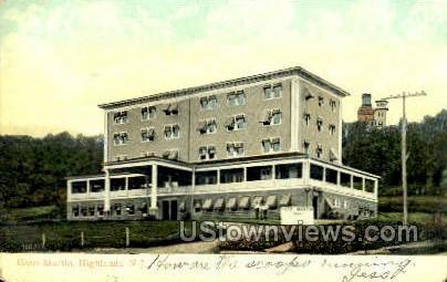 Hotel Martin  - Highlands, New Jersey NJ Postcard