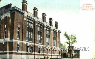 Laboratory Of Chemistry  - Hoboken, New Jersey NJ Postcard
