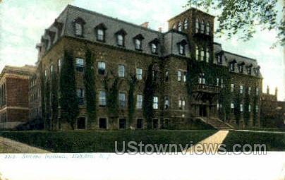 Stevens Institute - Hoboken, New Jersey NJ Postcard
