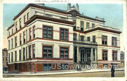 City Hall - Hoboken, New Jersey NJ Postcard