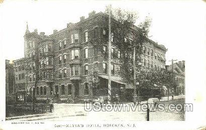 Meyers Hotel  - Hoboken, New Jersey NJ Postcard