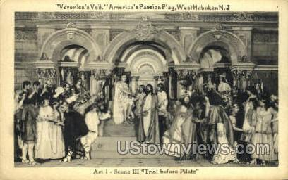 Veronicas Veil - Hoboken, New Jersey NJ Postcard