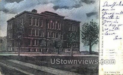 Public School No 5  - Hoboken, New Jersey NJ Postcard