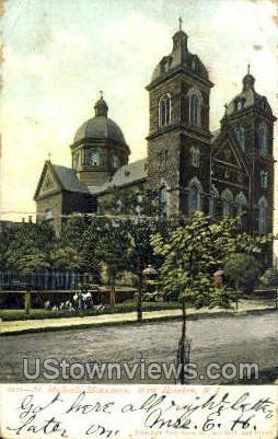 St Michaels Monastery - Hoboken, New Jersey NJ Postcard